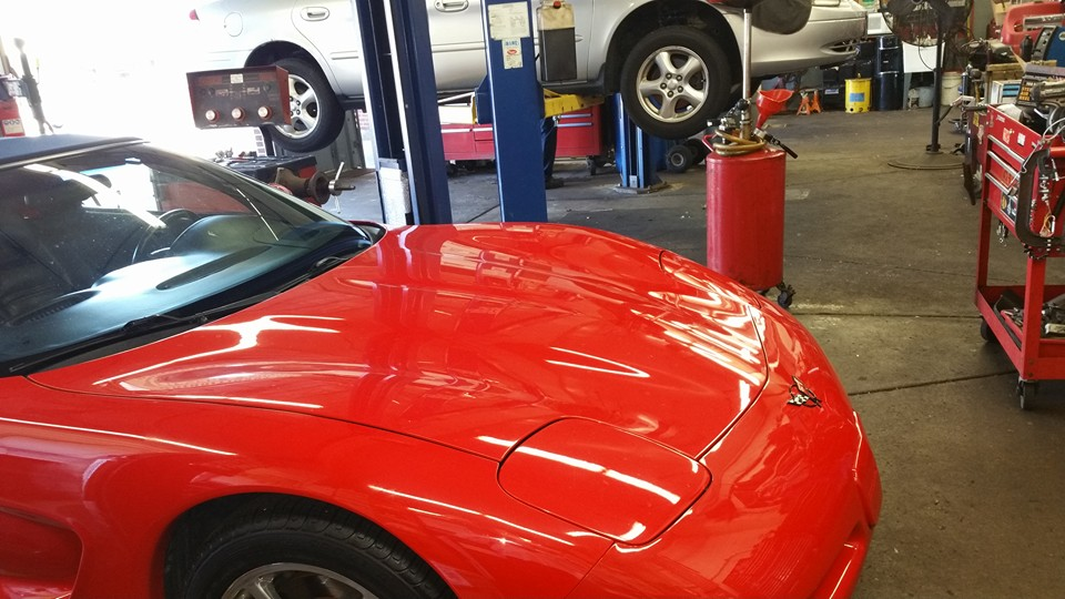 auto repair mechanic oil change